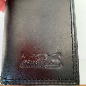 Levi's wallet with Identity Theft Protection.